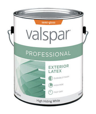 Valspar Contractor Professional Exterior Acrylic Latex Paint High Hiding White 1 gal.