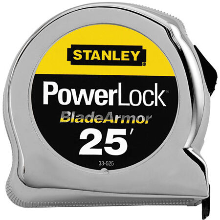 25 ft PowerLock(R) Tape Rule with BladeArmor(R)
