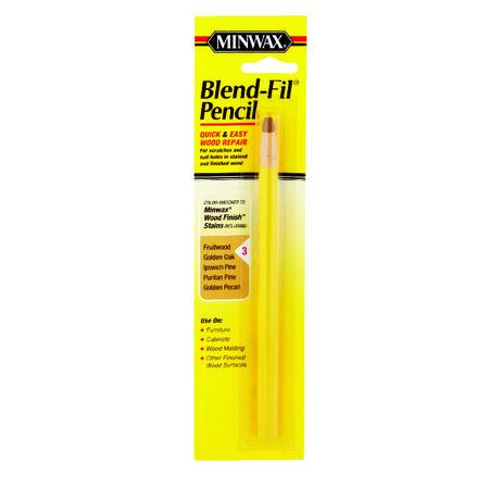 Minwax Blend-Fil No. 3 Fruitwood Golden Oak Golden Pecan Pine Puritan Pencil Wood Wood Penci
