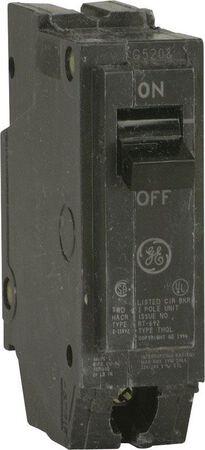GE Q-Line Single Pole 15 amps Circuit Breaker