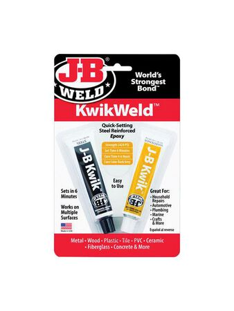 J-B Weld Kwik Weld Solid Automotive Adhesive 1 oz.