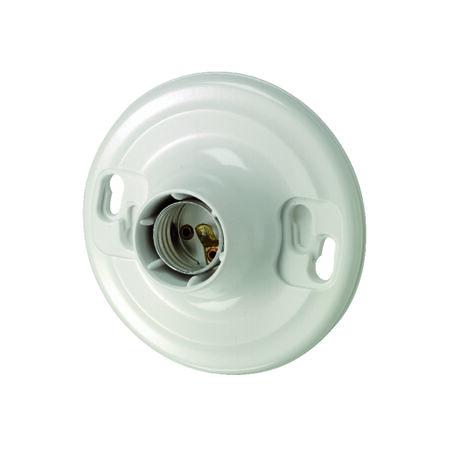 Leviton Socket 660 watts 600 volts White