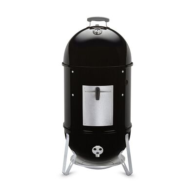 Weber Smokey Mountain Cooker 18 inch Charcoal 41 in. H Smoker Black
