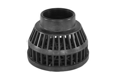 Abbott Rubber 2 in. Plastic Suction Hose Strainer