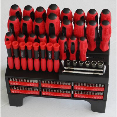 Hex Screwdriver Set 100 Pc