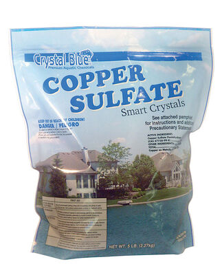 Crystal Blue Smart Crystals Copper Sulfate Algae Control 4-1/4 in. W x 7-1/4 in. L