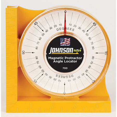 Johnson Angle Finder 4-3/4 in. L Plastic