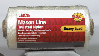 Ace 21 in. Dia. x 860 ft. L Twisted Nylon Twine White