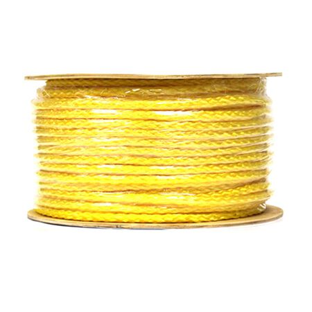 Wellington 1/2 in. Dia. x 250 ft. L Diamond Braided Poly Rope Yellow - Sold by the foot