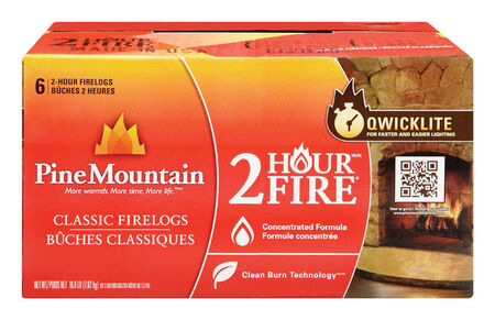 Pine Mountain Fire Log 2 hr.