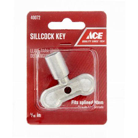 Ace 5/16 in. Dia. x 5/16 in. Dia. Aluminum Sillcock Key