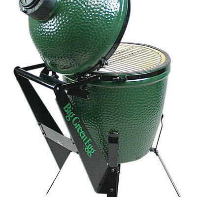 Large Big Green Egg Nest handler