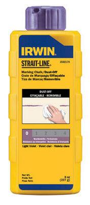 Irwin Strait-Line 8 oz. Light Violet Dust Off Chalk Indoor