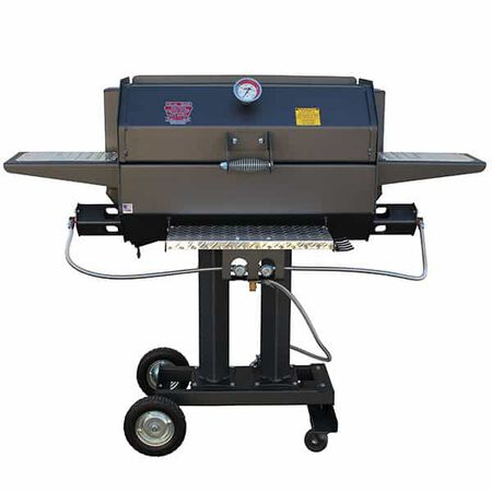 "R&V Works Smokin Cajun 30"" Grill LP SCG-30"