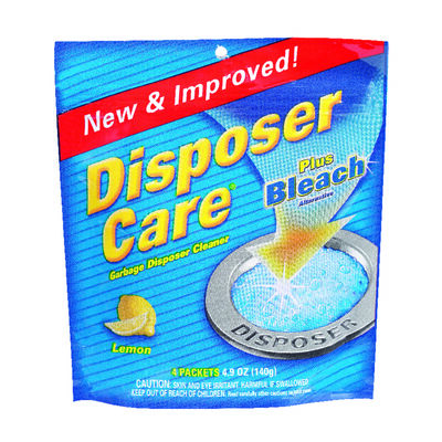 Disposer Care Pacs Garbage Disposal Cleaner 4 pk