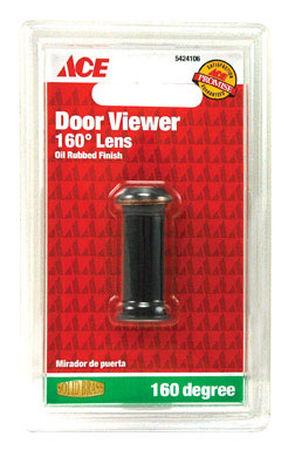 Ace Door Viewer Oil Rubbed Bronze Fits Doors 1-1/4 in. to 2 in. Thick
