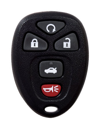 DURACELL Self Programmable Remote Automotive Replacement Key GM OUC60270 5-Button Remote L Doub