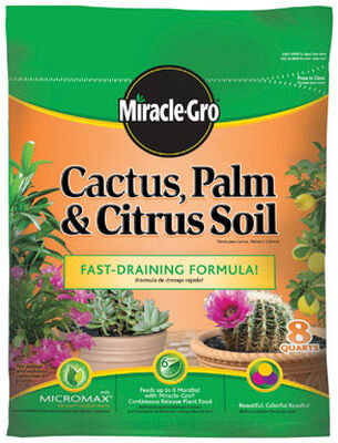 Miracle-Gro Cactus Palm & Citrus Soil Potting Mix