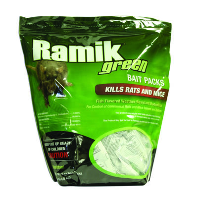 Ramik Rodent Bait For Rats and Mice 16 pk