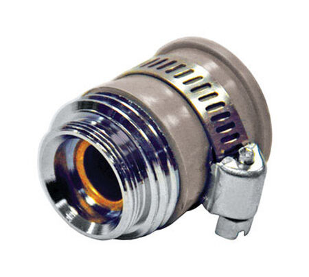 Ace 55/64in. -27M or 3/4in. GHTM x 3/4 in. GHTM Garden Hose Aerator Adapter