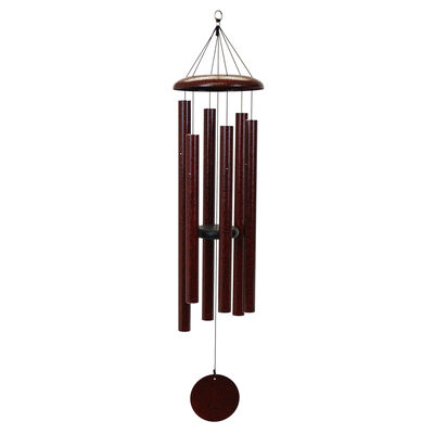 "Corinthian Bells, 50"" Ruby Splash Windchime"