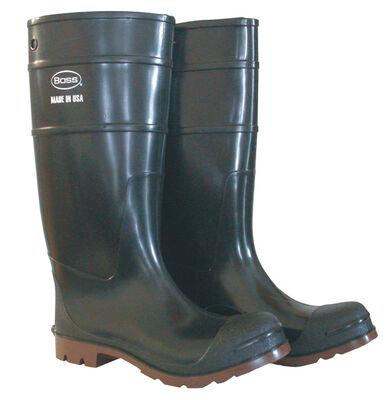 Boss Men's Steel Shank Boots Size 11 Black/Brown