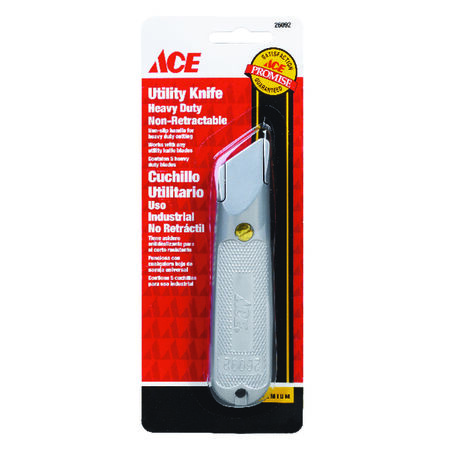 Ace Utility Knife Silver