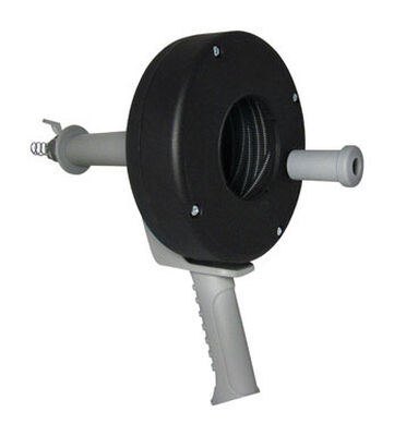 Cobra 1/4 in. Pistol Grip Drum Auger 25 ft. L