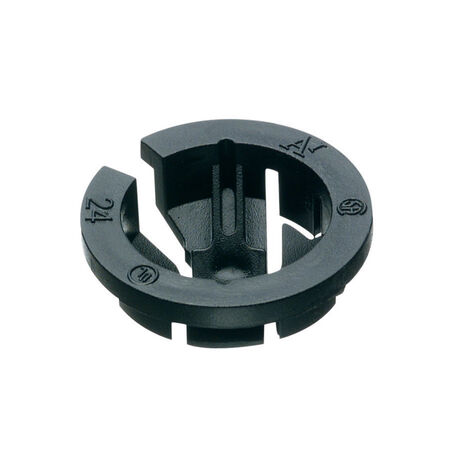 Arlington Push-In Connector Black 3/4 in. Dia. 25 pk