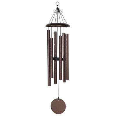 "Corinthian Bells, 36"" Copper Vein Windchime"