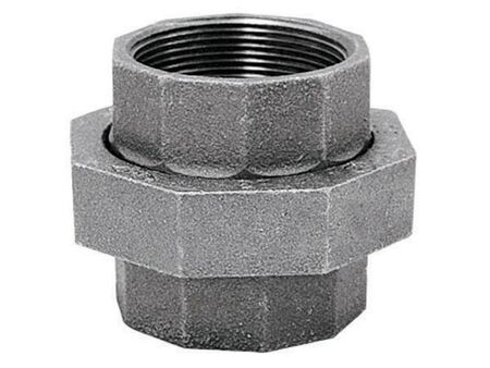 B & K 1-1/2 in. Dia. x 1-1/2 in. Dia. FPT To FPT Galvanized Malleable Iron Union