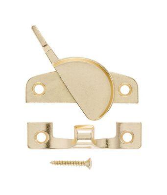 Ace Bright Brass Brass Narrow Sash Lock Bright Brass 1