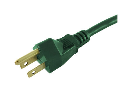 Ace Outdoor Extension Cord 16/3 SJTW 40 ft. L Green