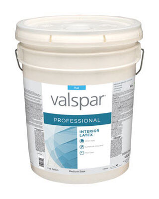 Valspar Contractor Professional Interior Acrylic Latex Paint 5 gal.