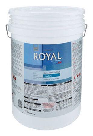 Ace Royal Interior Acrylic Latex Wall & Trim Paint Satin 5 gal. Mid-Tone High-Hiding Base