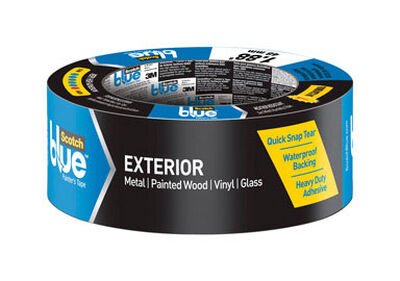 Scotch 1.88 in. W x 45 yd. L Exterior Painter's Tape High Strength Blue 1 pk