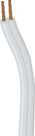 Southwire 18/2 SPT-1 300 volts Lamp Cord Wire 250 ft. L White - Sold by the foot