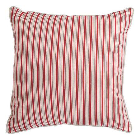 "20"" Ticking Stripe Pillow"