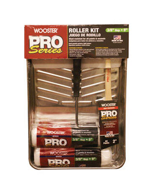 Wooster Pro Series Paint Roller Kit 9 in. W 6 pc.