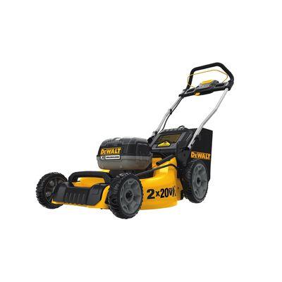 DeWalt 2X20V Max Brushless Lithium Battery Powered 20 in. Lawnmower Mulching Capability