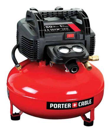Porter Cable 6 gal. Pancake Portable Air Compressor 150 psi 0.8 hp