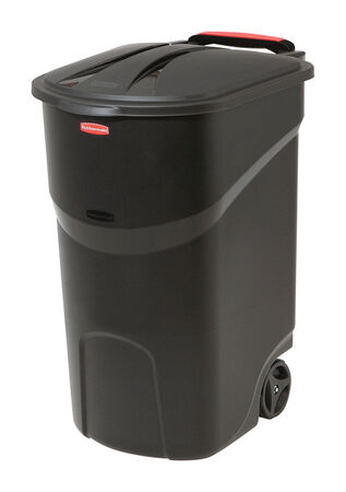 Rubbermaid Roughneck 45 gal. Resin Garbage Can With Wheels