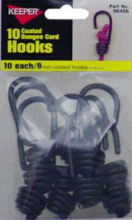 Keeper Corporation Keeper Bungee Cord Hooks 2 in. 0 lb. 10 pk