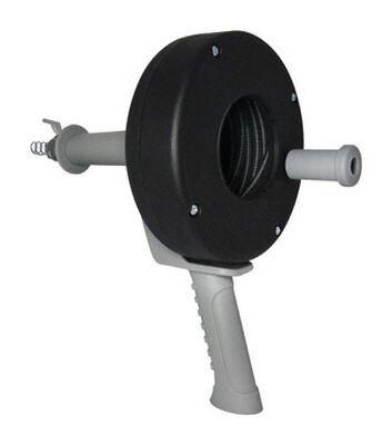 Cobra 1/4 in. Pistol Grip Drum Auger 15 ft. L