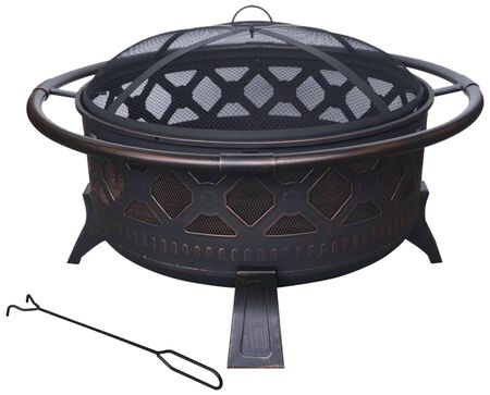 "Golden Dawn 36"" Fire Pit"