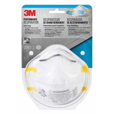 3M Paint Sanding Respirator 2 pk