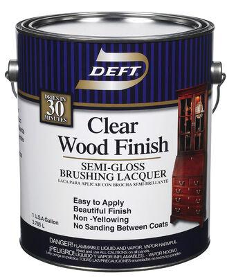 Deft Brushing Lacquer Semi-Gloss 1 gal.