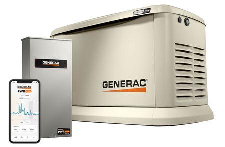 Generac Guardian® 24kW Standby Generator System (200A Service Disc. + AC Shedding) w/ PWRview & Wi-Fi