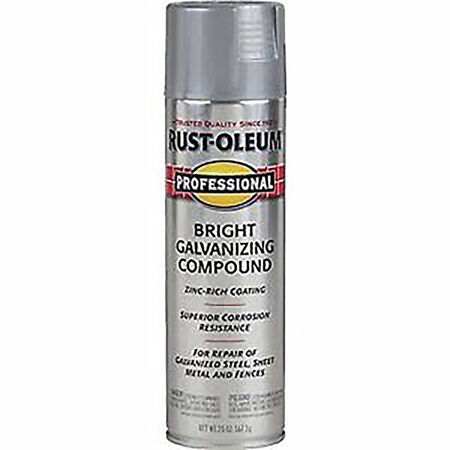 Rust-Oleum Professional Galvanized Bright Gray Galvanizing Compound Spray 20 oz.