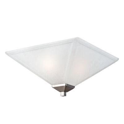 Torino 2-Light Ceiling Light, Satin Nickel #514794